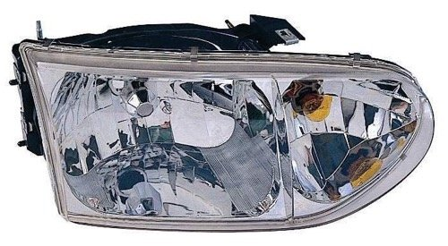 - Go-Parts ª OE Replacement for 1999-2002 Mercury Villager Front Headlight Headlamp Assembly Front Housing/Lens/Cover - Right (Passenger) Side XF5Z 13008 AB FO2503165 for Mercury Villager