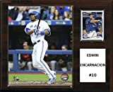 "MLB Toronto Blue Jays Edwin Encarnacion Player Plaque, 12""x15"""