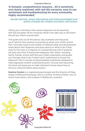 Autism Diagnosis Explained >> Talking With Your Child About Their Autism Diagnosis A Guide For