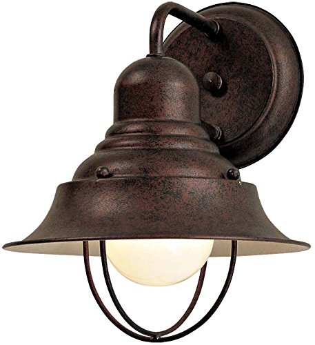 "Minka Lavery Outdoor Wall Light 71167-91 Wyndmere Exterior Wall Lantern, 100 Watts, Bronze - OUTDOOR WALL LIGHT DIMENSIONS: 10.25"" High x 8.25"" Wide x 8.5"" Deep, Weight: 0.88 lbs, Wall Plate Mount: 5"" W MEDIUM BASE LIGHT SOCKET: 100 Max Wattage, A19 Style Bulb, Compatible with E26 Base, Case Use: LED, Fluorescent, Halogen or Incandescent Bulbs, Does Not Include Light Bulb(s), Dimming possible when used with Dimmable Bulb and Dimmer Switch INSTALLATION: Lights Down Position. Includes 7"" Long Wire and Comes with Hardware Mounting Kit - patio, outdoor-lights, outdoor-decor - 517VErF0L4L -"