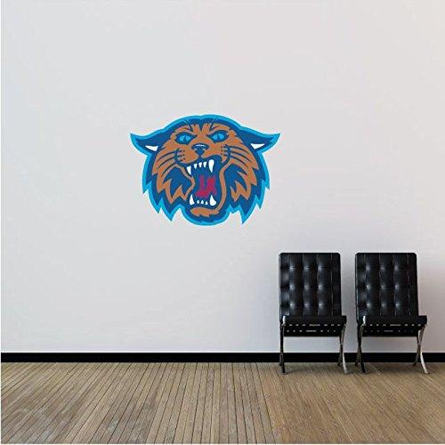 Villanova Wildcats NCAA USA Head Logo College Sport Art Wall Decor Sticker 25'' x 19''