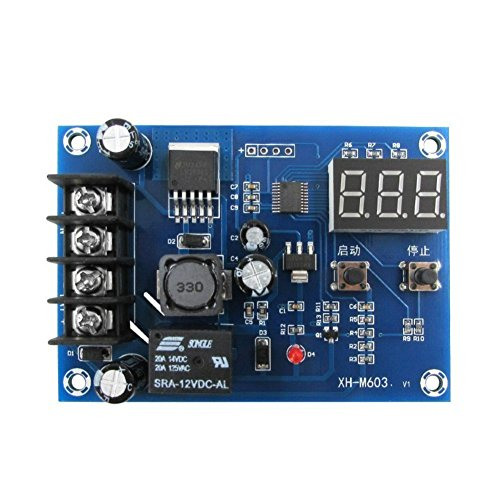 Battery Charge Board - WINGONEER Charge Control Module 12-24V Battery Protection Board for Lead Acid Battery and Lithium Battery
