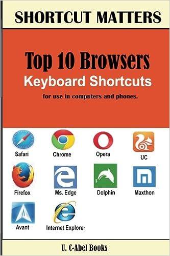 U. C-Abel Books - Top 10 Browsers Keyboard Shortcuts: Volume 28