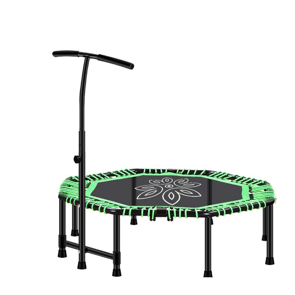 【期間限定特価】 Mesurn JP green 体育館の家庭用トランポリン JP、大胆な塗装鋼管、伸縮性のあるロープの強化、収納と簡単な折りたたみ、屋内痩身トランポリン green B07R8BSMTG green green, オオノマチ:bd8dd3f5 --- arianechie.dominiotemporario.com