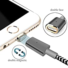 Lightning to USB Magnetic Cable For Iphone 7 7plus.Update Mgnetic Data Line And Charging Indicator Light,Lightning to USB Charger For iphone7 7plus 6 6s 6plus 5 5s