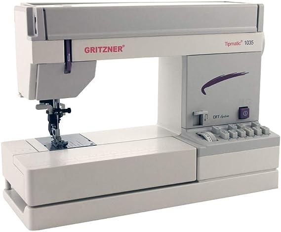 Gritzner 1035-DFT Tipmatic - Máquina de Coser: Amazon.es: Hogar