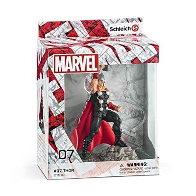 SCHLEICH Marvel Thor Diorama Character Action Figure: Schleich: Toys & Games