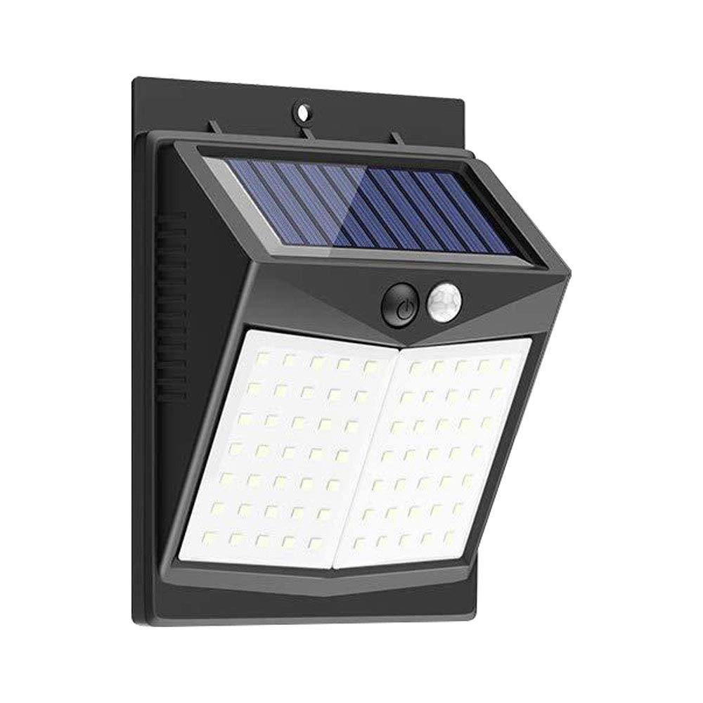 Yard Garage CLAONER Solar Lights Outdoor Deck Upgraded 70 LED Solar Security Light 150/° Wide Angle Brighter Wireless Waterproof Solar Motion Sensor Light for Front Door