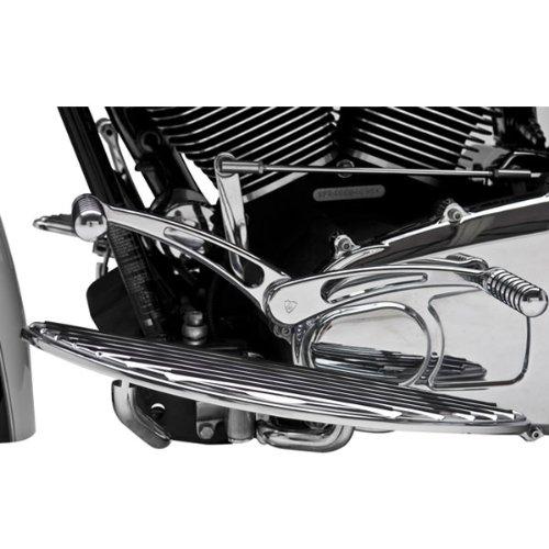 Arlen Ness Heel/Toe Radius Chrome Shift Lever without Shift Peg for Harley Davi - One Size