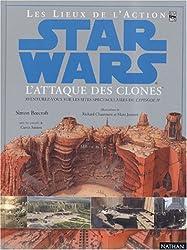 Star Wars, épisode 2 : Les lieux de l'action