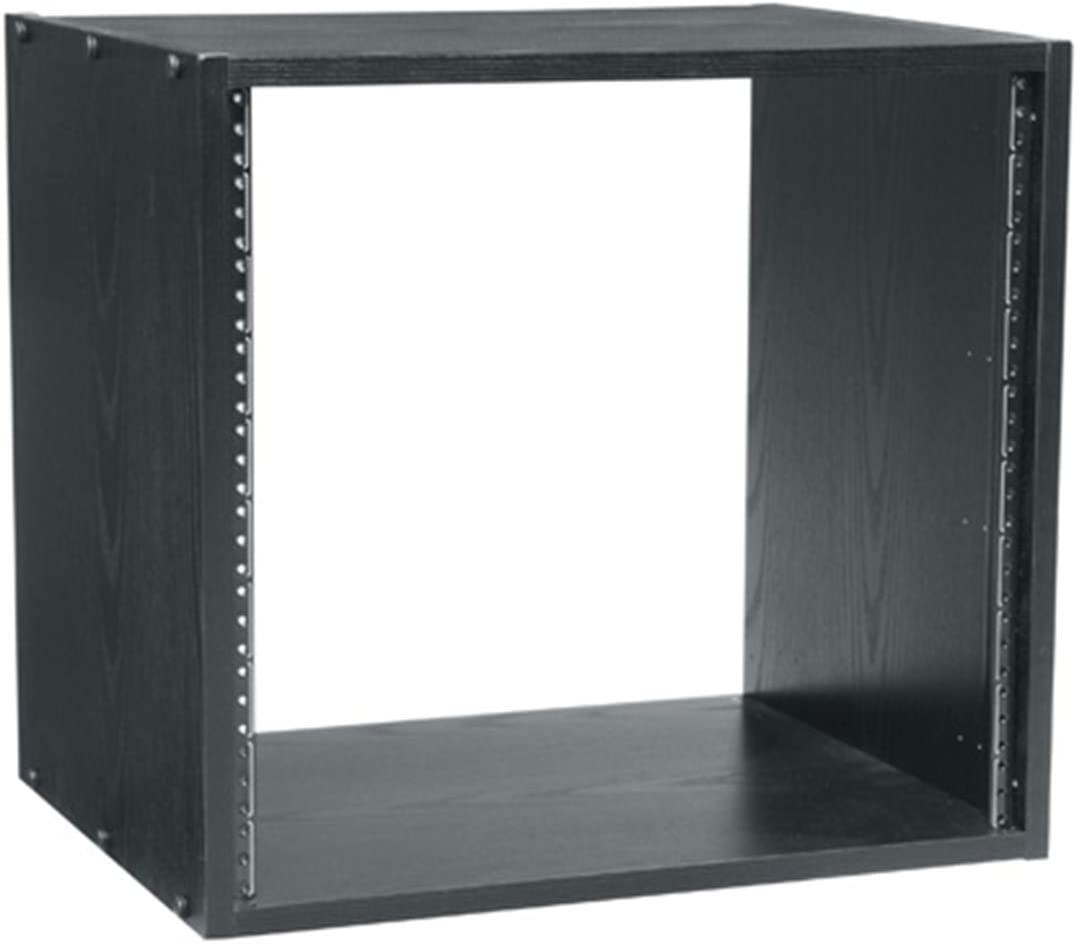 Amazon Com Middle Atlantic Brk8 14 8 Space Wooden Studio Equipment Rack Black Electronics