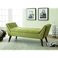 Coaster 500006 Home Furnishings Bench, Green