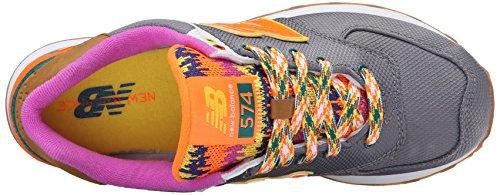 New Balance Wl574 - Zapatillas Mujer Gris - Gris (Gunmetal/083)