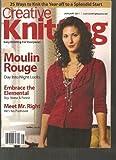 Creative Knitting Magazine (Moulin Rouge Day into night looks, January 2011)
