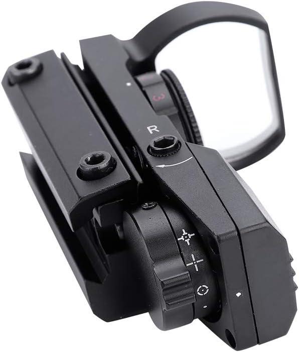 Mugast Telescope Finderscope Reflex Red//Green Dot Sight Scope with 5 Brightness Adjustable for Telescope