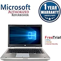 HP EliteBook 8460p 14 Inch Business High Performance Laptop Computer(Intel Core i7 2720 QM 2.2G,8G RAM DDR3,500G HDD,DVDRW,Windows 10 Professional)(Certified Refurbished)