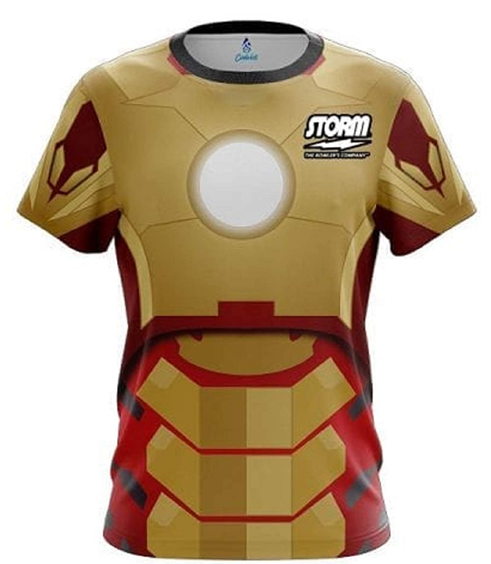 CoolWick Storm Super Hero 5 Bowling Jersey
