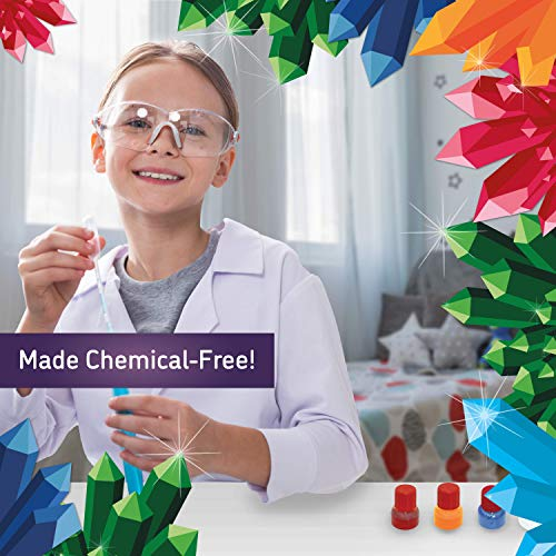 Playz Growing Crystal Creations 27+ Geology & Earth Science Experiments Kit - Make Crystalline Eggs & Starfish, Magical Gardens, Rainbow Flowers, Custom Geodes, & Secret Messages by Playz (Image #8)