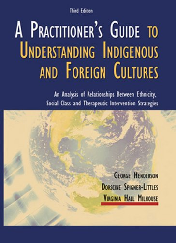 A Practitioner's Guide to Understanding Indigenous and Foreign Cultures: An Analysis of Relationships Between Ethnicity,