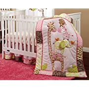 Carter's Jungle Collection 4 Piece Crib Set
