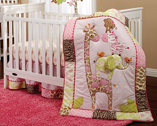 Carter's Jungle Collection 4 Piece Crib Set -