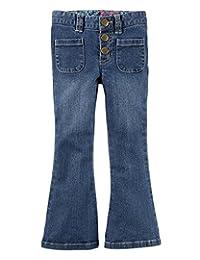 Carters Toddler Girls 5-Pocket Stretch Flare Denim