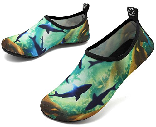Whale Water Exercise Shoes and Socks Ocean Swim Aqua Beach adituo Pool Sports Men Women Barefoot for gZSRqZdxw