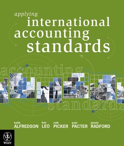 Applying International Accounting Standards