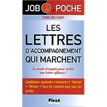 LETTRES D'ACCOMPAGNEMENT QUI MARCHENT (LES)