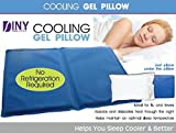 Cooling Gel Pillow - Helps You Sleep Cooler & Better Sleeping Aid Cool Comfortable Used for Flu & Fever Headaches, Sunburn, Heat Flashes