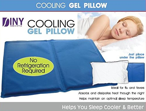 Cooling Gel Pillow Comfortable Headaches