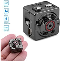 SOLOLIFE 1080P HD Mini Hidden Camera Portable Motion Detection Wireless Body Camera Video Recorder with Night Vision,Surveillance Spy Nanny Cam for Indoor and Outdoor