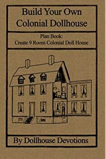 Amazon stanley colonial dollhouse plans a new stanley do it build your own colonial dollhouse plan book 9 room colonial doll house dollhouse solutioingenieria Image collections