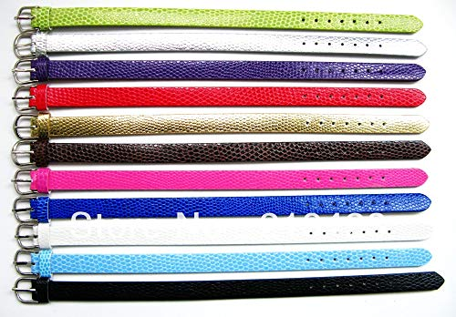 Accessories Wristband 10Mm Width 210Mm Length | Snake Skin Bracelet Fit 8Mm Slide Charms (50Pcs)