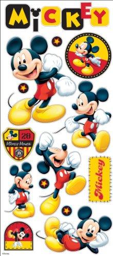 - Disney EK Success 53-60006 Large Flat Stickers, Mickey