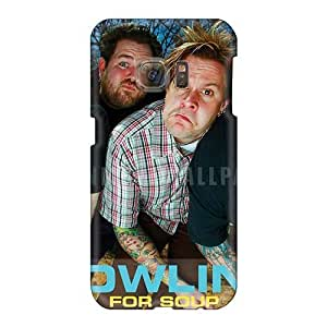 SherriFakhry Samsung Galaxy S6 Best Hard Phone Case Support Personal Customs Lifelike Bowling For Soup Band Image [sar8577iQeI]
