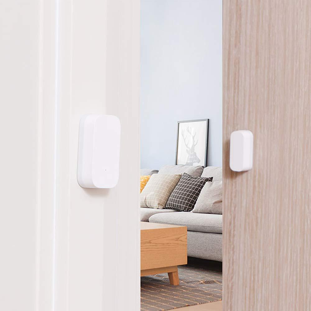 Para Xiaomi Aqara Smart Home WiFi Control remoto Puerta de enlace multifuncional,Para Xiaomi Aqara Sensor de puerta de ventana inteligente Para Xiaomi Aqara Smart Home 2 en 1 Kit