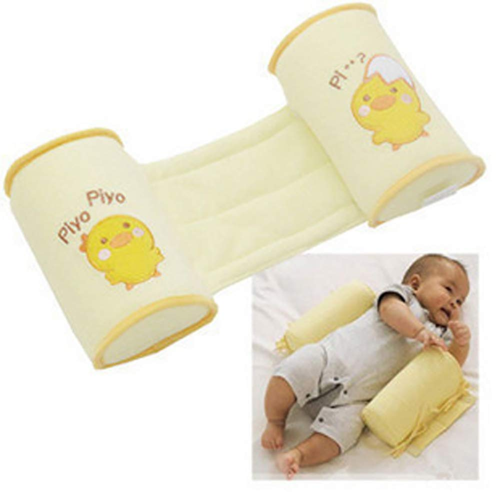 Baby Crib Bumper Nursing Pillow Anti-Rollover Memory Foam Cute Cartoon Anti-roll Sleeper Pillow Sleep Positioner Insurance