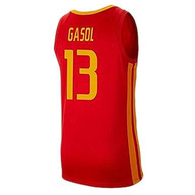 Camiseta de baloncesto Marc Gasol # 13 de los hombres - 2019 Copa ...