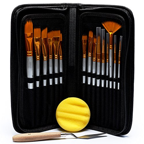 artist-paint-brush-set-15-different-brush-shapes-sizes-bonus-free-painting-knife-watercolor-sponge-1