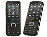 ZTE F160 Unlocked GSM Phone with 3G, GPS, 3MP Camera, Music Player, Bluetooth and microSD Slot - Black