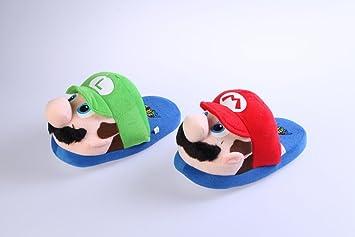 Achat Chaussons Super Mario Bros Mario Luigi