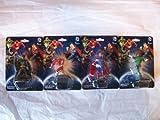 Miniature Dc Comics Figurines Set of 4 ( Batman , Superman , the Flash & the Green Lantern )
