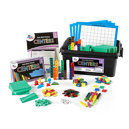 - Daily Math Fluency Center Kit for Kids (Grade 3+) - Basic Division Facts, Multiplication 2 Digit by 1 Digit, and Basic Multiplication | Develop Number Sense | Reinforce and Support New Math Skill