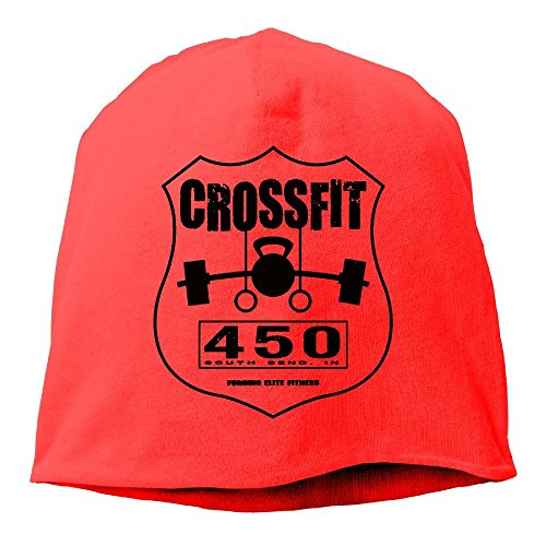 XiaoTing Momen CROSSFIT Cool Travel Red Beanies Hat (Dallas Cowboys Cross Gloves)