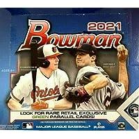 $189 » 2021 Bowman MLB Baseball RETAIL box (24 pks/bx)
