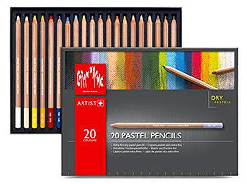 Caran D'ache Set of 20 Pastel Pencils (788.320) by Caran d'Ache