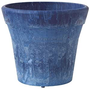 6 Round Planter Mesa Iris - Part #: 7069