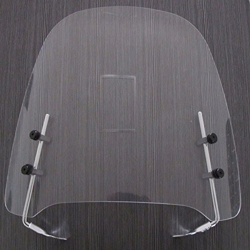 (Clear Gy6 125cc 150cc Scooter Moped Dirt Bike Motorcycle Windshield Screen Visor Scooter Windshield Transparent Acrylic)
