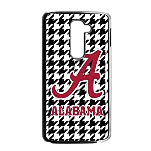 Hoomin NCAA Alabama Crimson Swallow Gird Pattern LG G2 Cell Phone Cases Cover Popular Gifts